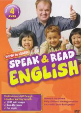 Speak Read English 4-Dvds Program