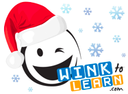 wink-to-learn-christmas